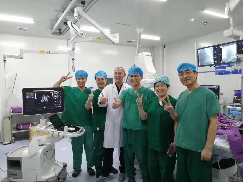 南院区心脏内科成功完成室间隔肥厚梗阻与房颤房扑一站式射频消融治疗